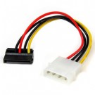 StarTech.com Adattatore cavo di alimentazione Molex a SATA con angolare sinistro 4 pin 15 cm cod. SATAPOWADPL