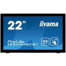 "iiyama ProLite T2235MSC 21.5"" 1920 x 1080Pixel Multi-touch Da tavolo Nero monitor touch screen cod. T2235MSC-B1"