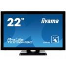 "iiyama ProLite T2236MSC-B2 21.5"" 1920 x 1080Pixel Multi-touch monitor touch screen cod. T2236MSC-B2"