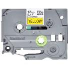 Brother TZE-631S nastro per etichettatrice Nero su giallo cod. TZE631S