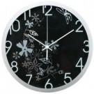 Metodo V150401 orologio da parete Quartz wall clock Cerchio Nero cod. V150401
