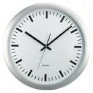 Metodo V150710 orologio da parete Quartz wall clock Cerchio Grigio, Bianco cod. V150710